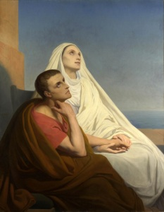 Augustine and Monica, Ary Scheffer, 1846.